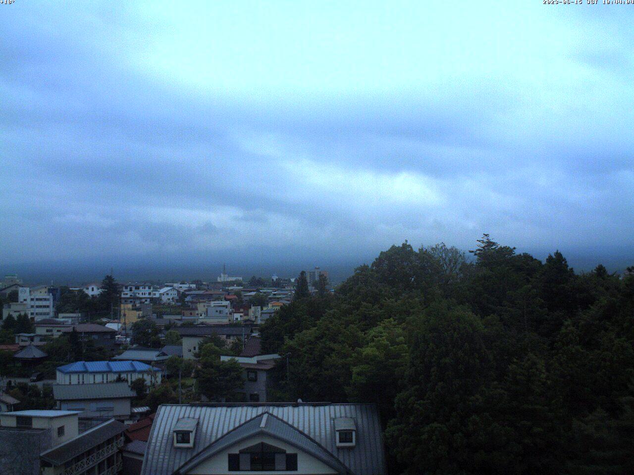 富士山ライブカメラ(河口湖船津カメラ)