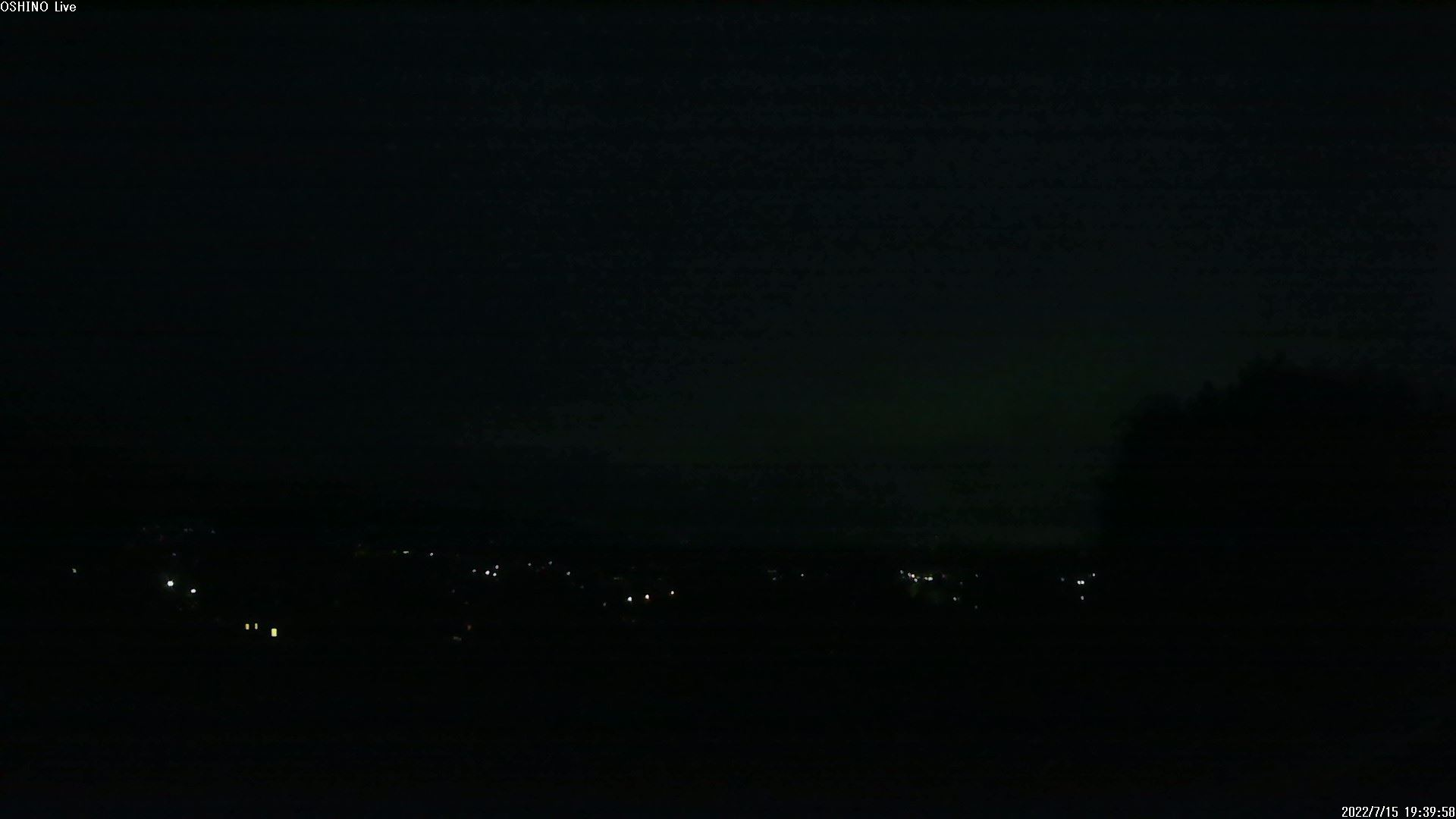 富士山ライブカメラ(忍野高台カメラ)