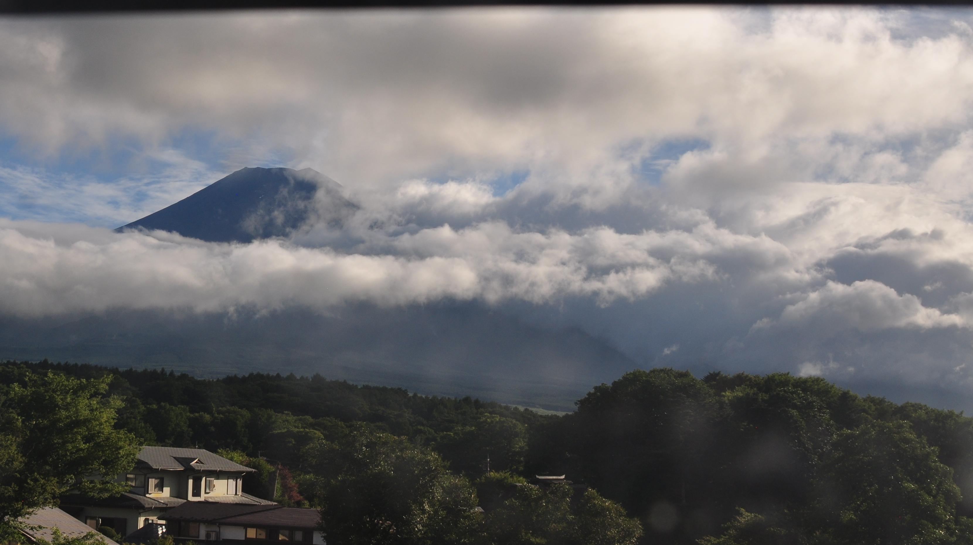 富士山ライブカメラ(忍野カメラ)