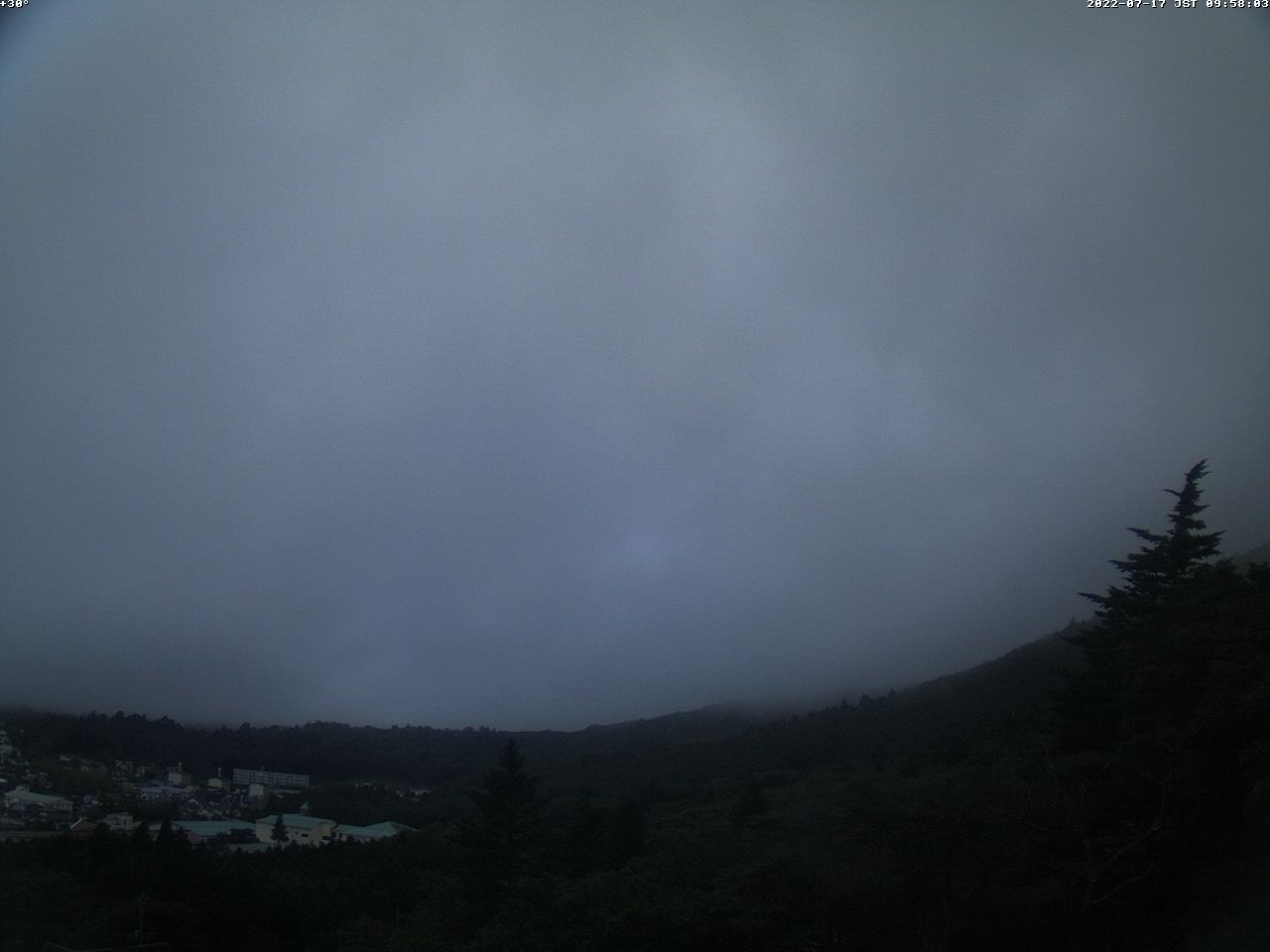 富士山ライブカメラ(須走カメラ)