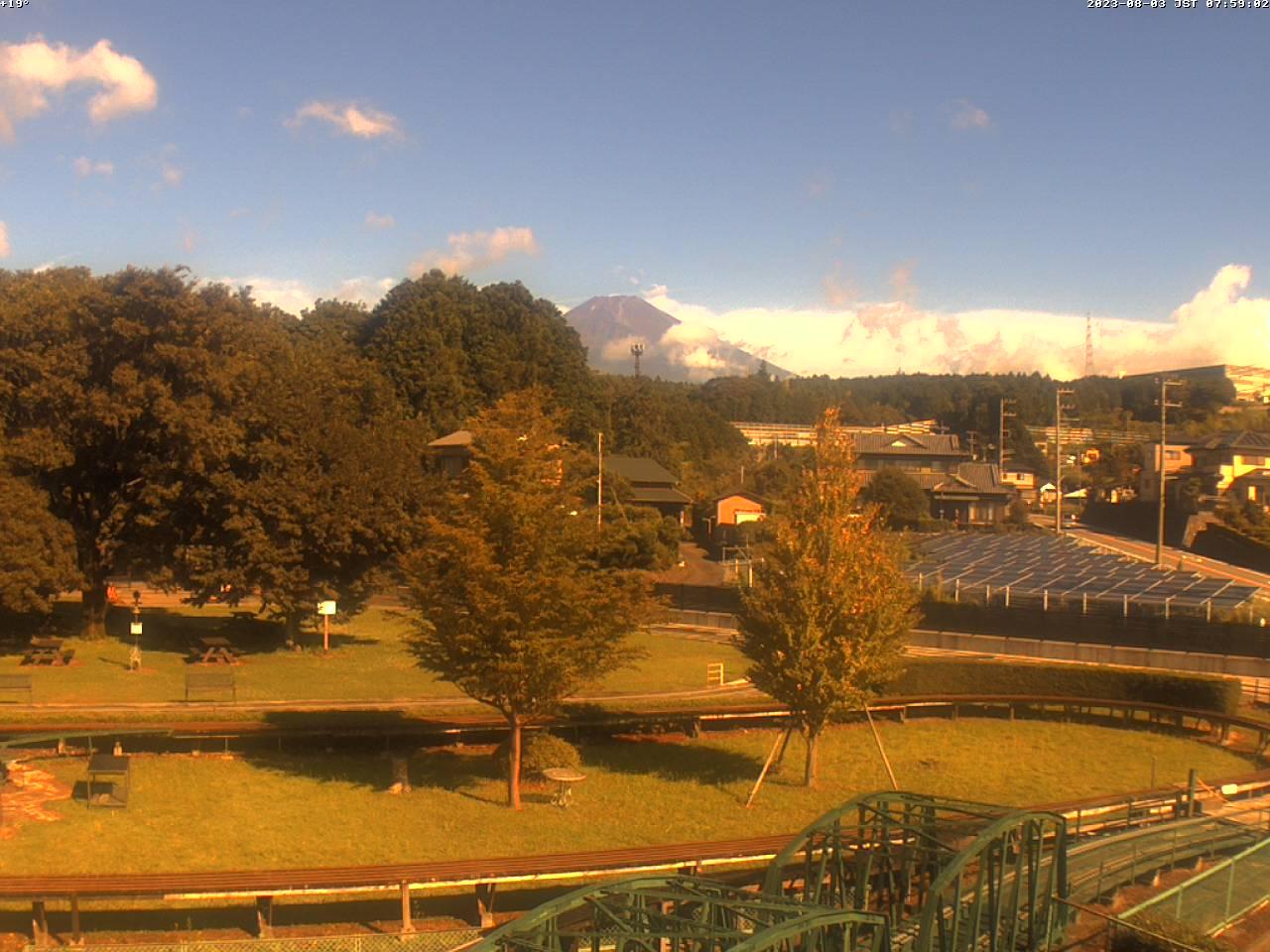 富士山ライブカメラ(裾野市望遠カメラ)