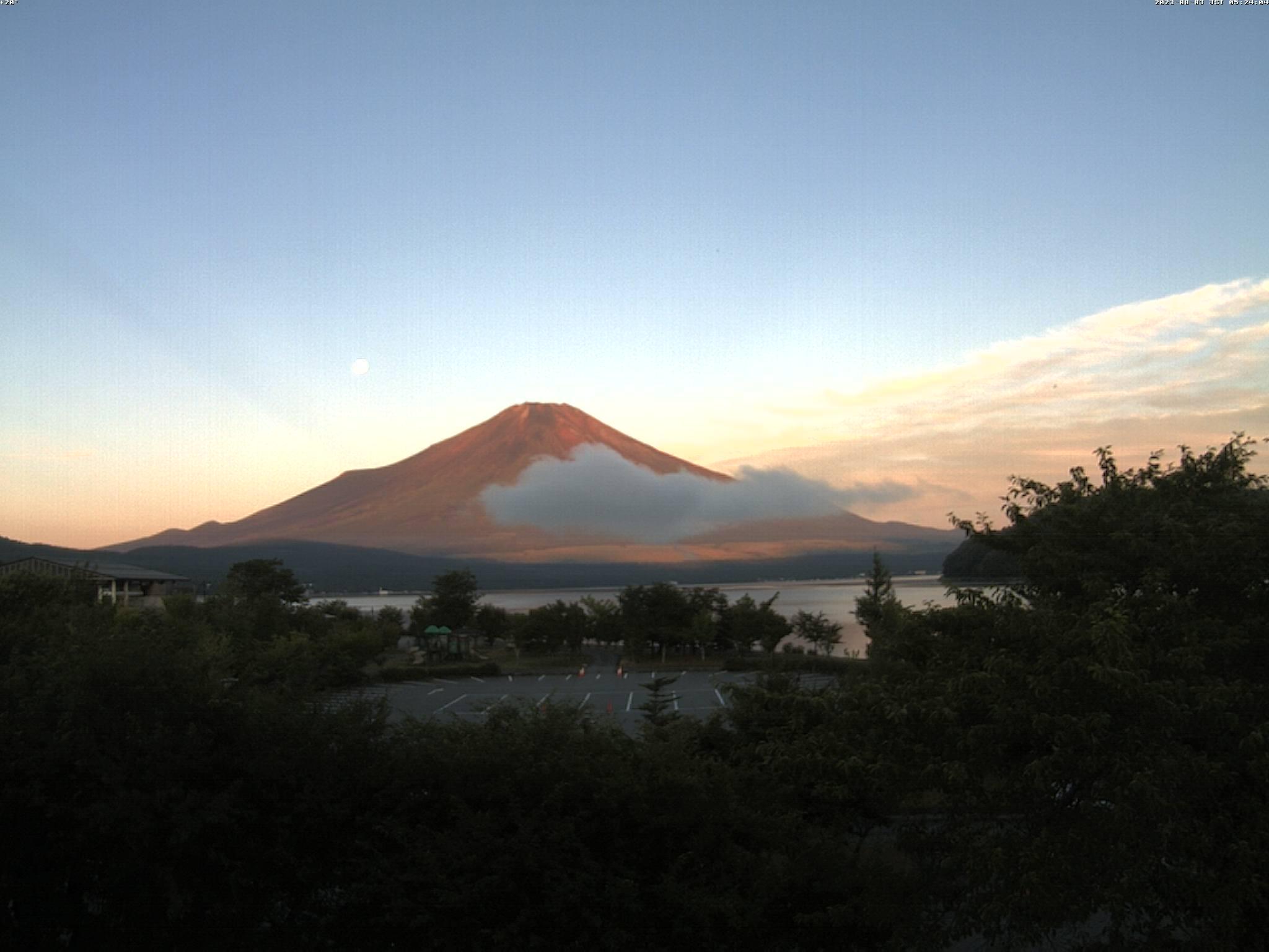 富士山ライブカメラ(裾野市河川敷カメラ)