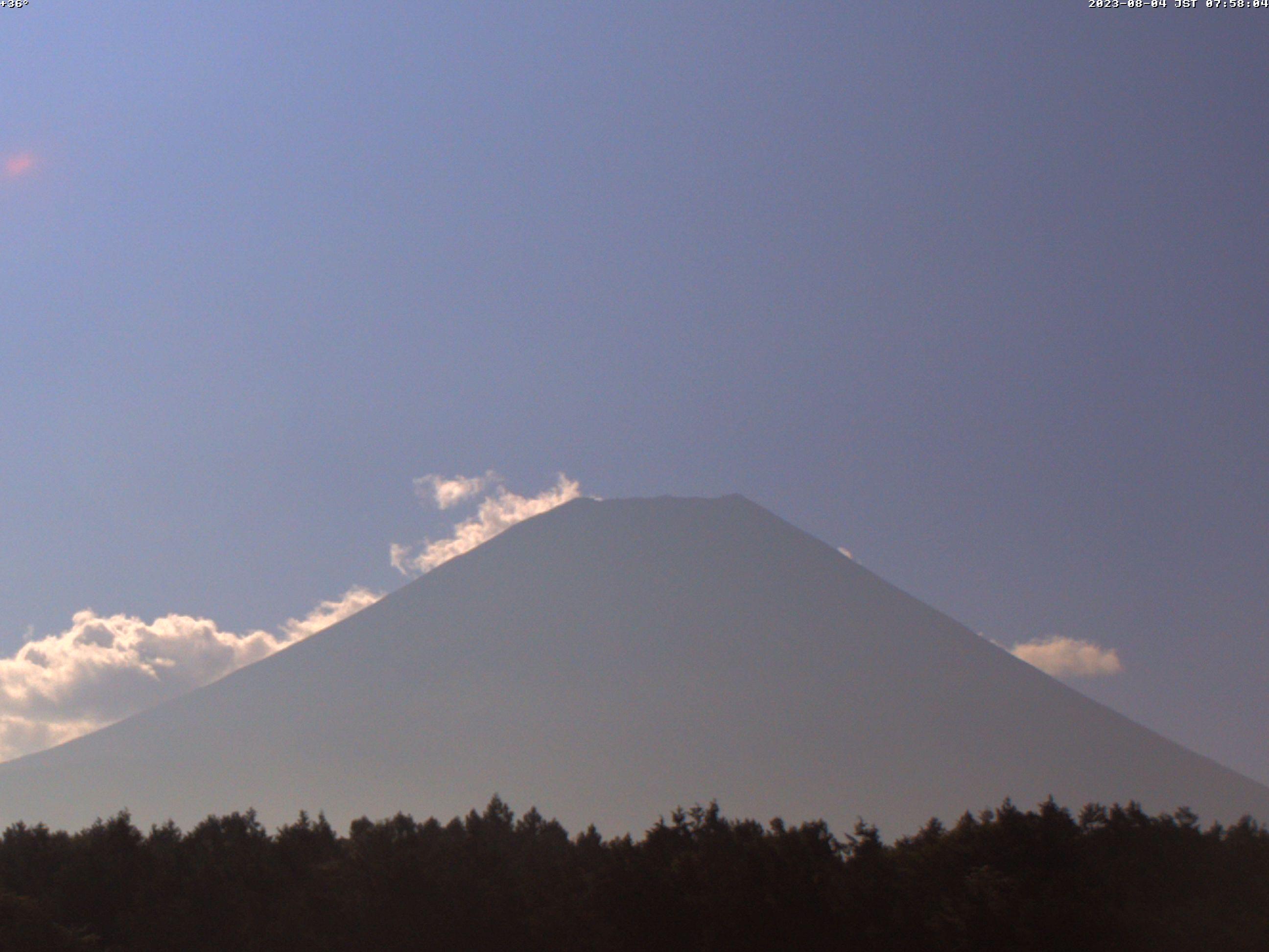 富士教育訓練センター(朝霧望遠富士山カメラ)
