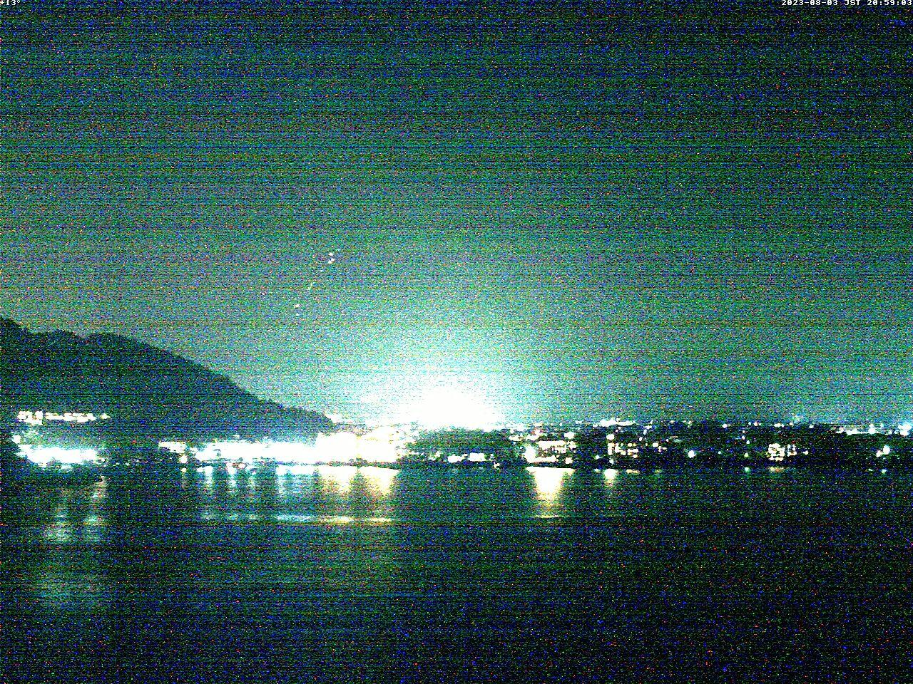 富士山ライブカメラ(河口湖逆さ富士カメラ)