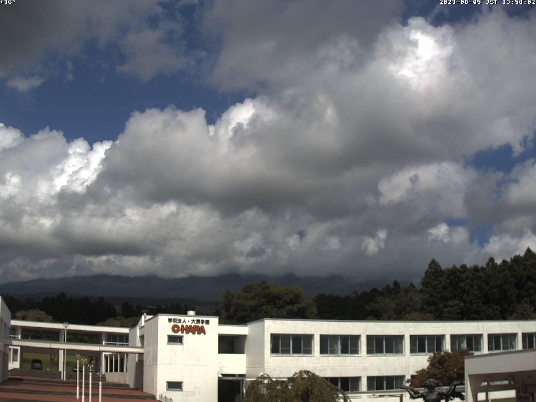 富士山ライブカメラ(河口湖湖畔カメラ)