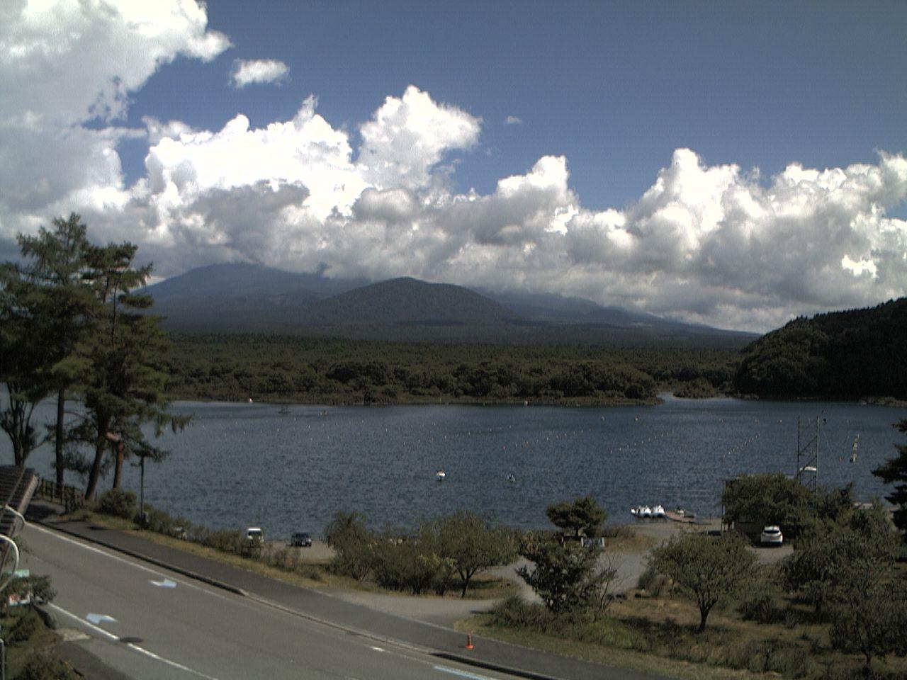 富士山ライブカメラ(精進湖子抱き富士カメラ)