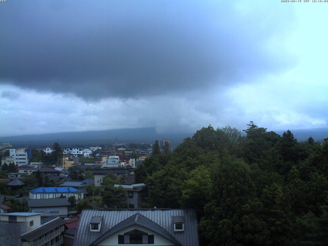 富士山ライブカメラ-河口湖船津