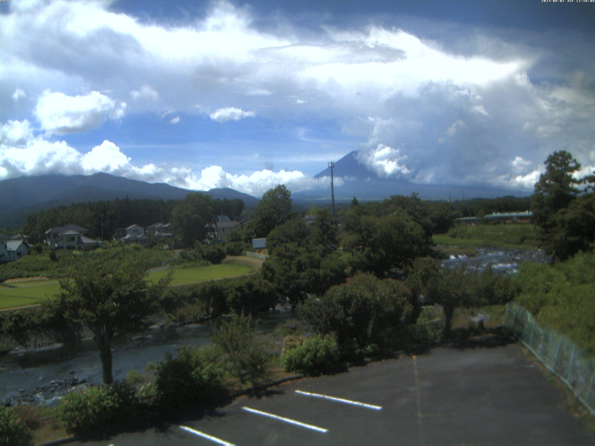 富士山ライブカメラ-富士吉田市内