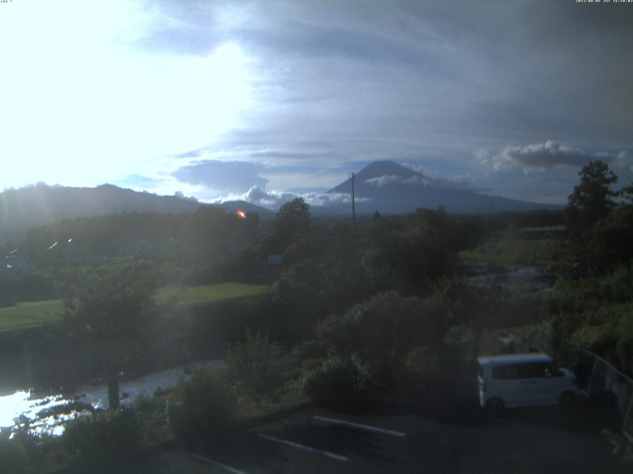 富士山ライブカメラ(富士吉田市内)