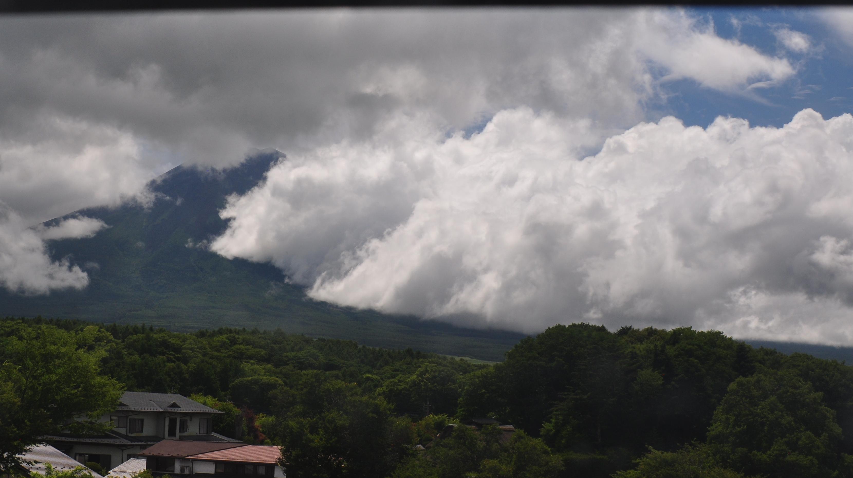 富士山ライブカメラ-忍野