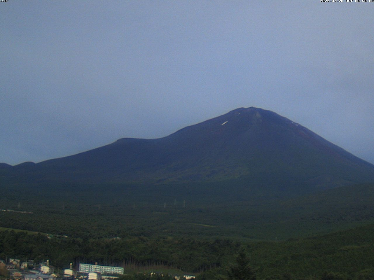 富士山ライブカメラ(須走望遠)