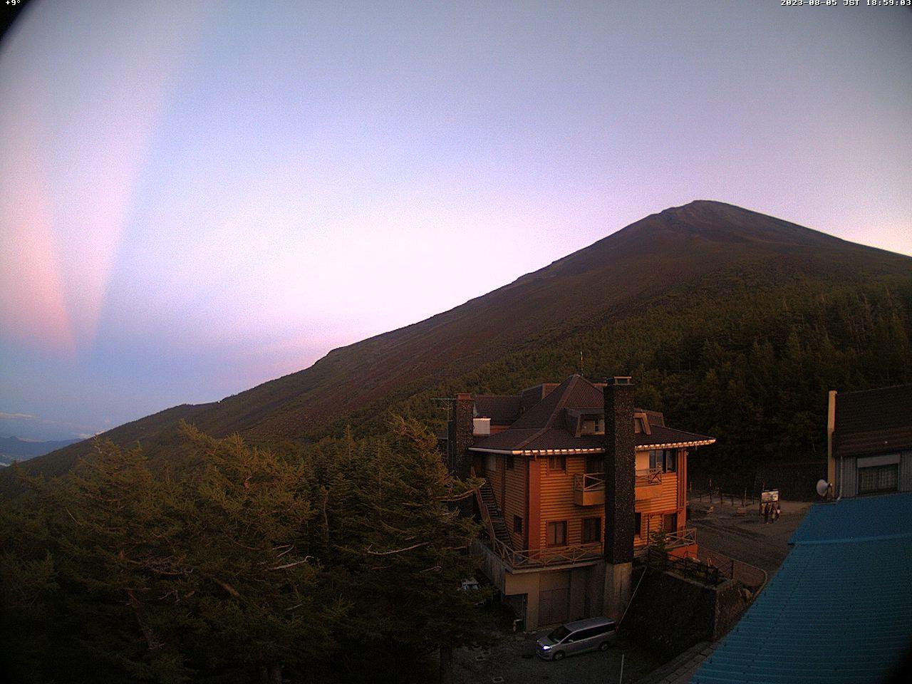 富士山ライブカメラ-富士市茶畑