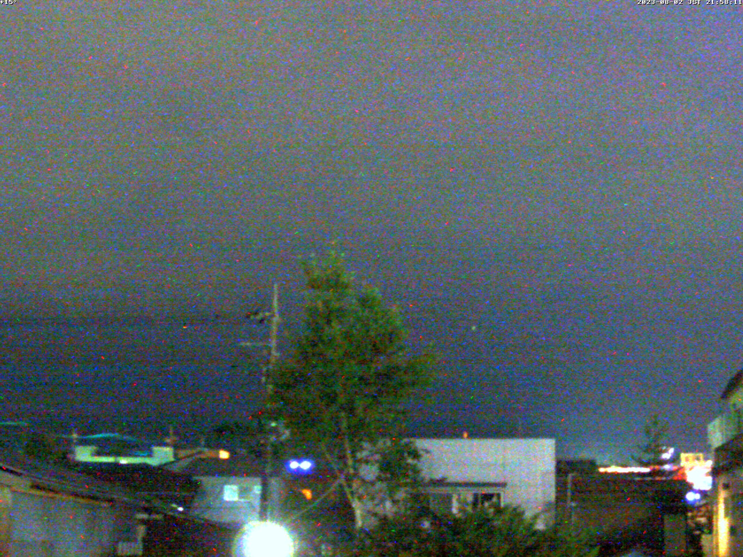 富士山ライブカメラ(富士吉田市中曽根望遠)
