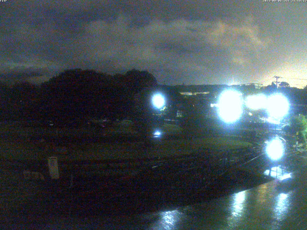 富士山ライブカメラ-裾野市日本庭園鉄道