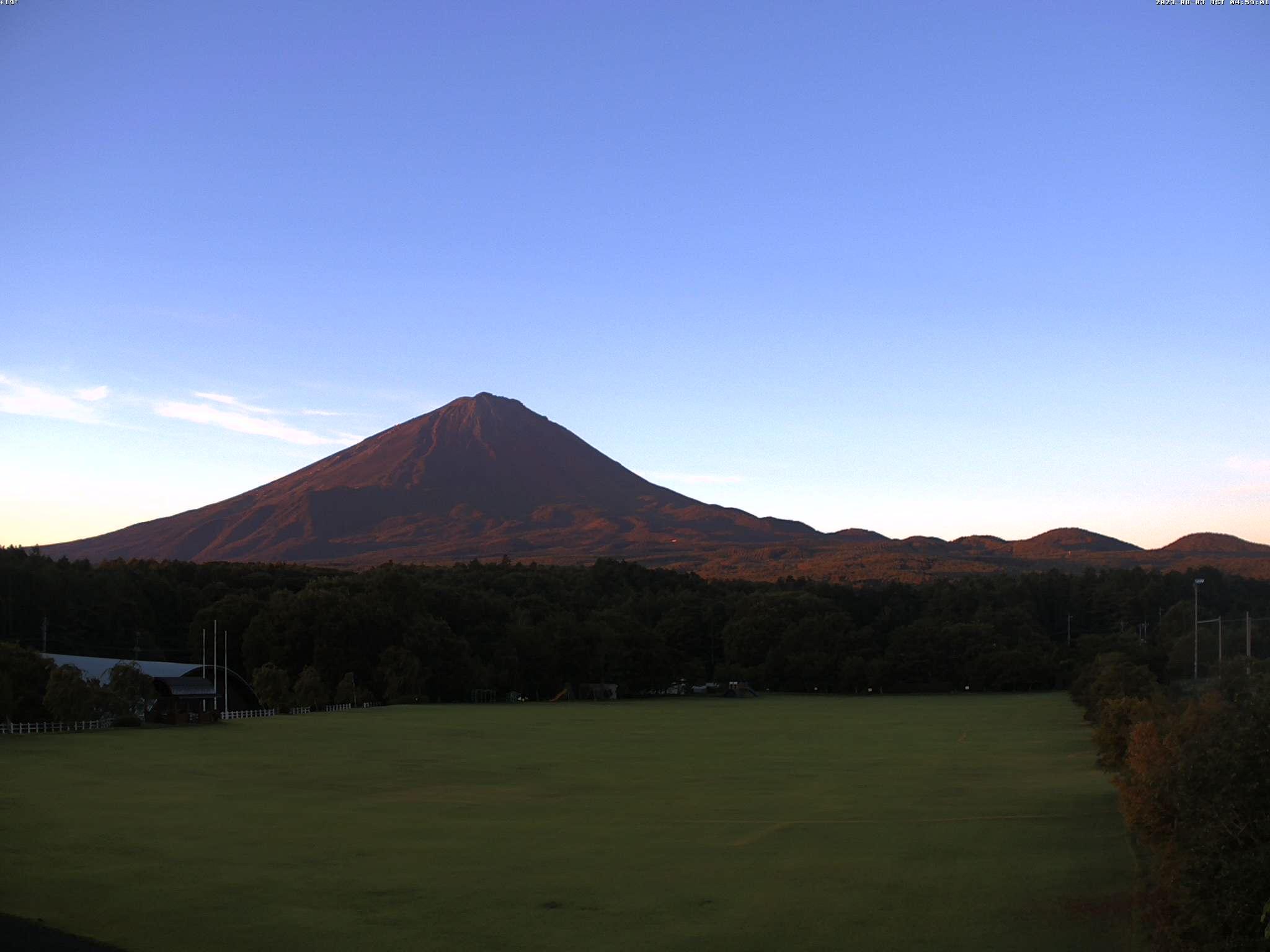 富士山ライブカメラ(富士山五合目カメラ)