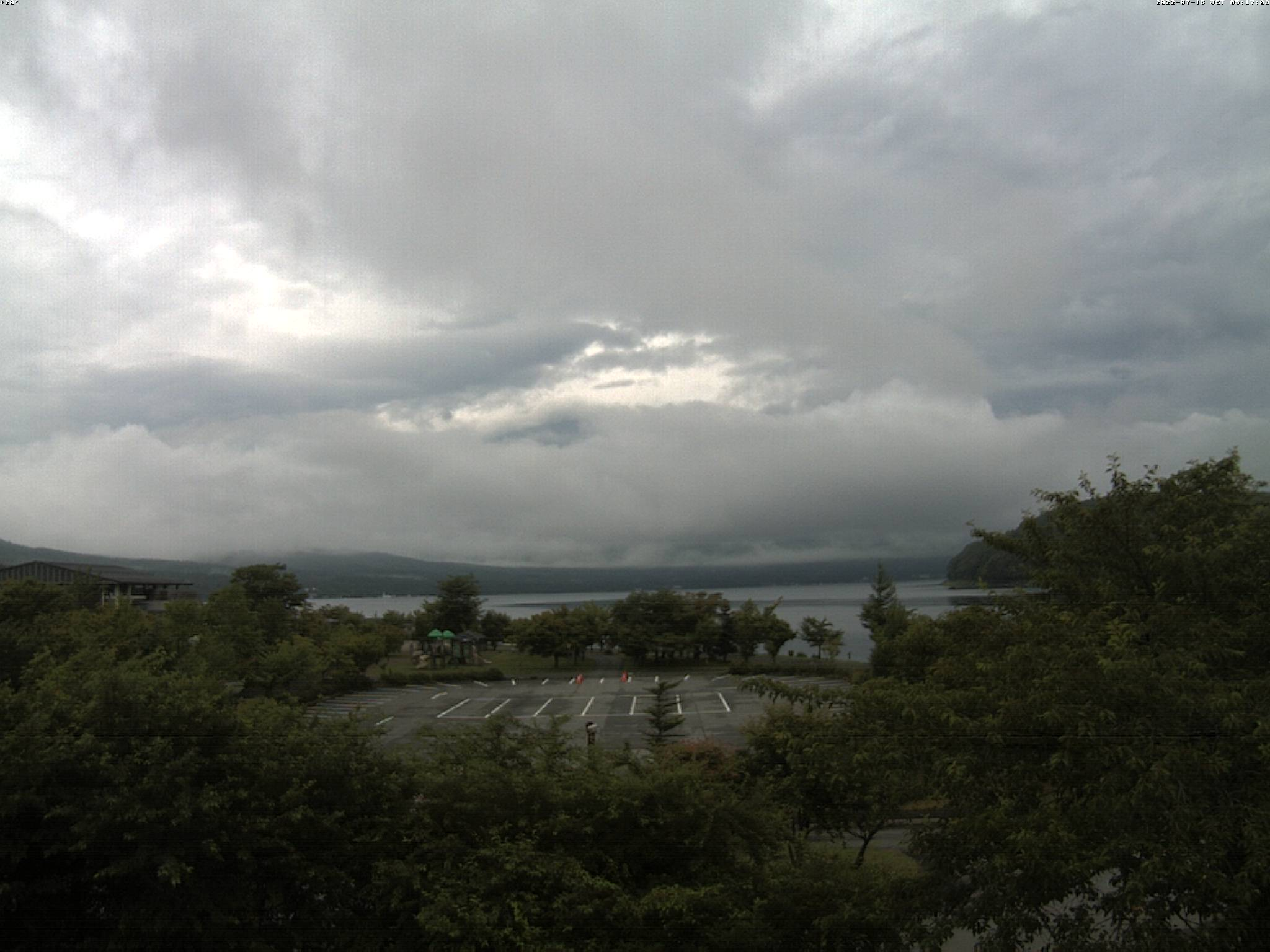 富士山ライブカメラ-山中湖平野