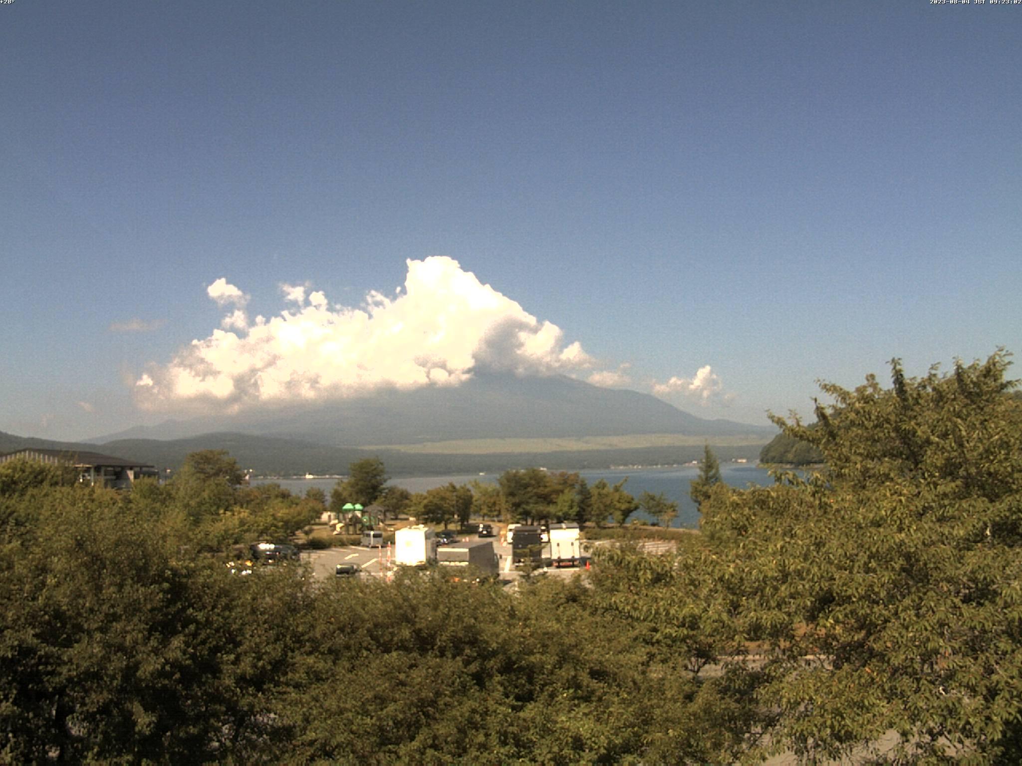 富士山ライブカメラ(裾野市河川敷)