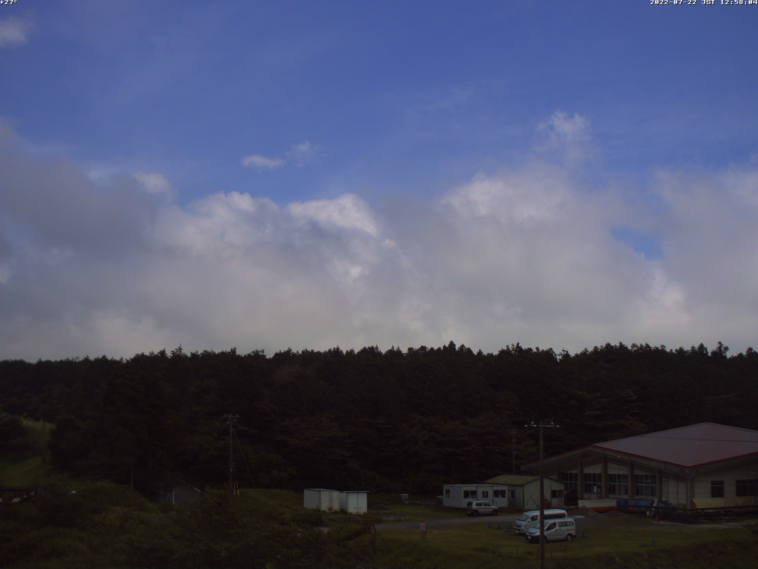 富士教育訓練センター(朝霧富士山カメラ)
