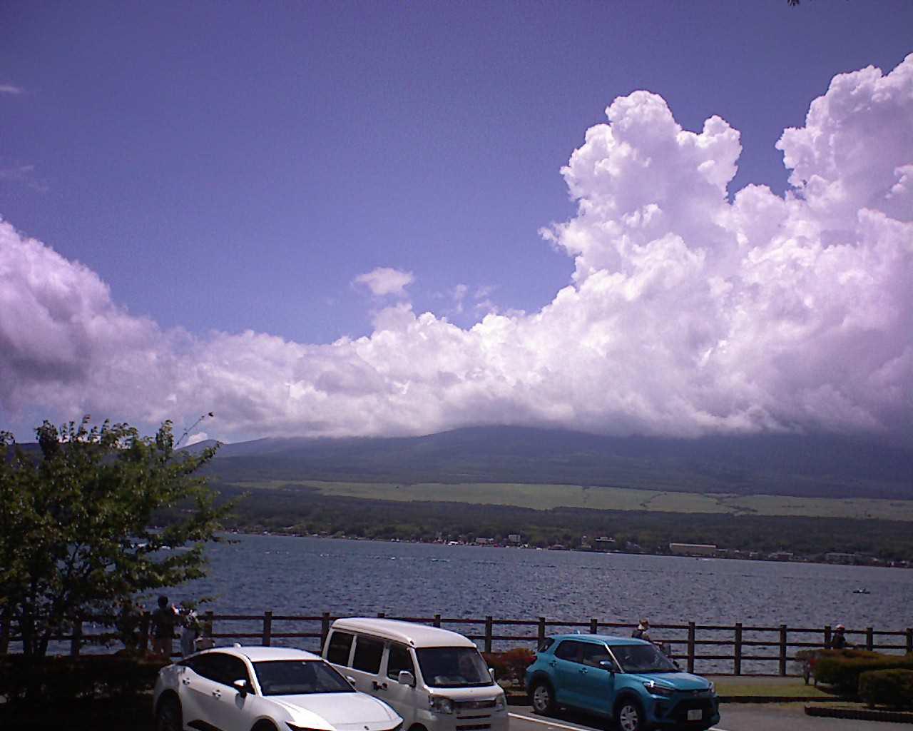 富士山ライブカメラ(山中湖長池)