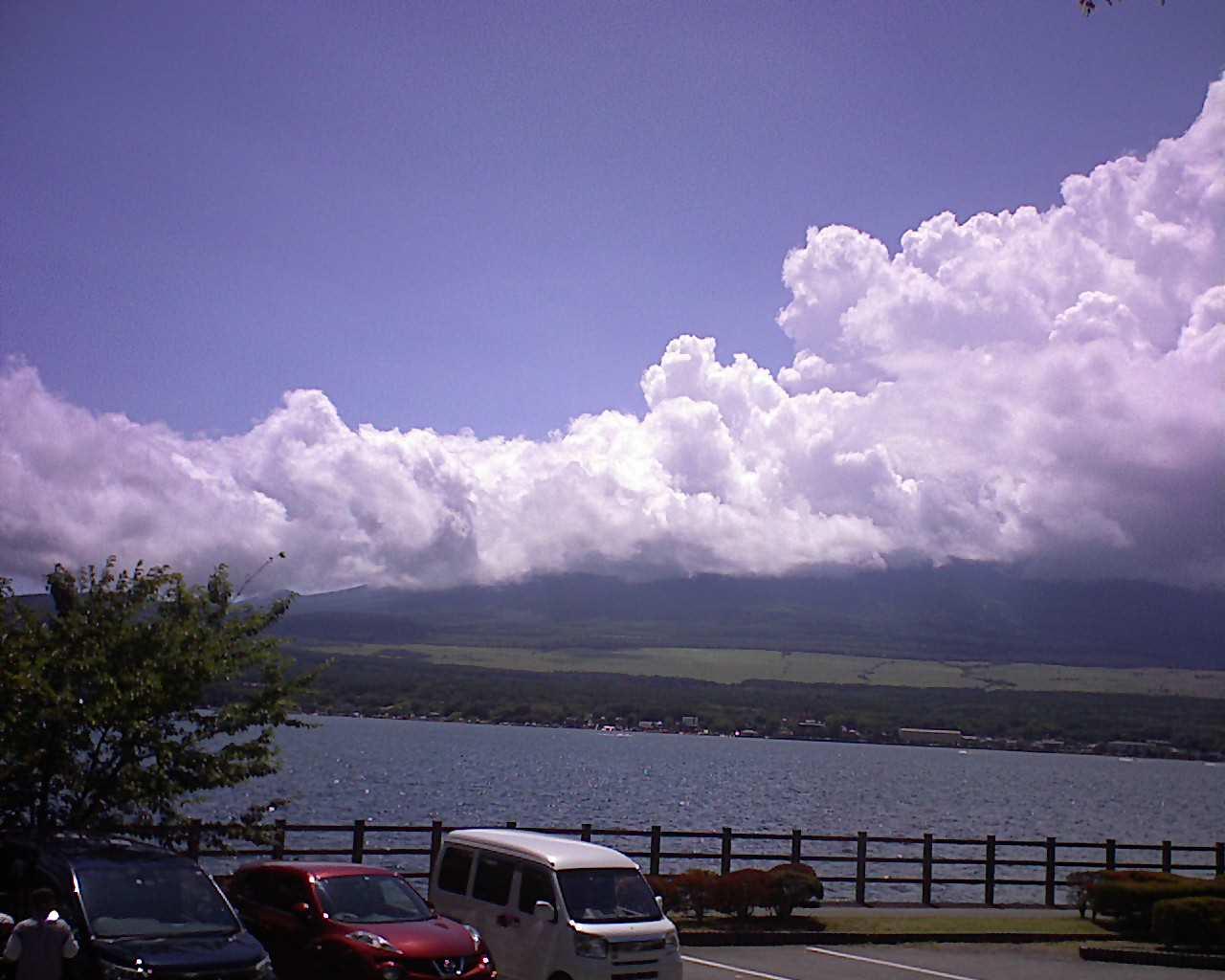 富士山ライブカメラ(山中湖長池カメラ)