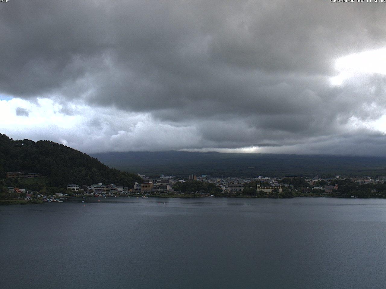 富士山ライブカメラ-河口湖逆さ富士