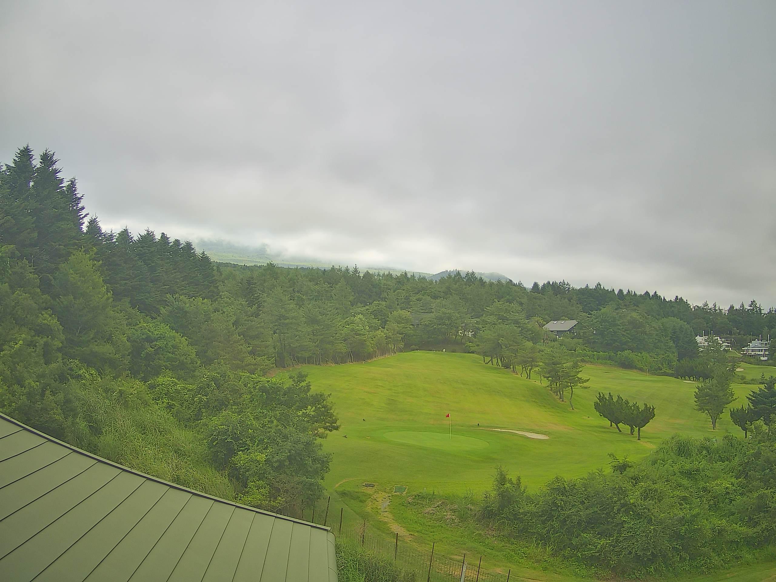 富士山ライブカメラ-富士ヶ嶺ゴルフクラブ