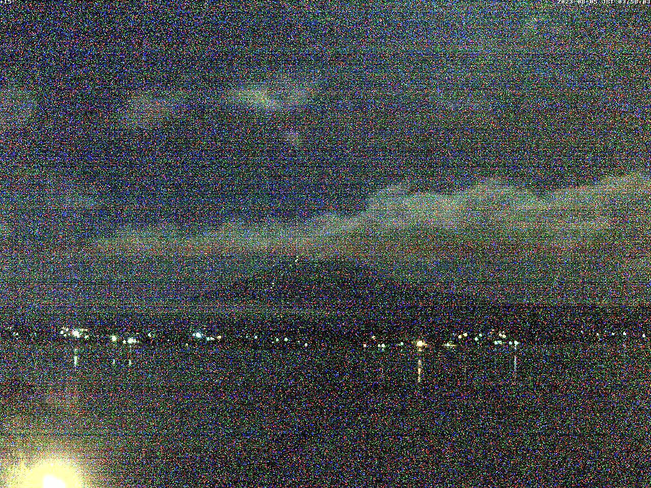 富士山ライブカメラ(河口湖北岸カメラ)