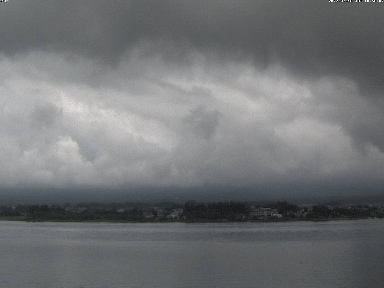 富士山ライブカメラ(河口湖北岸望遠カメラ)