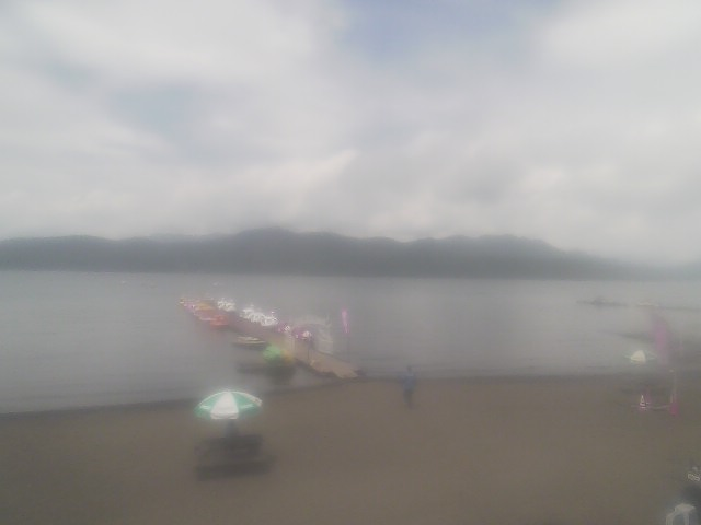 富士五湖カメラ-山中湖湖畔